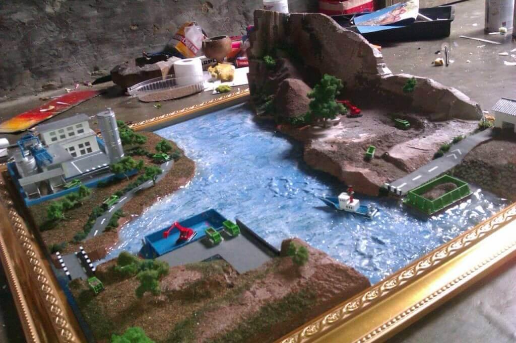diorama maket site plan maket creator, maketcreator.com