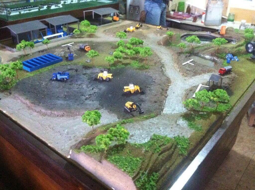 diorama siteplan maket creator, maketcreator.com