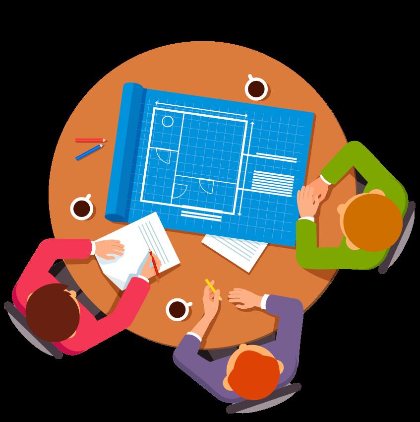 icon meeting team maket creator, maketcreator.com