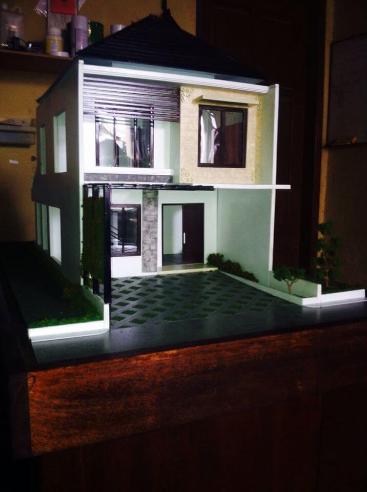 buat maket rumah miniatur rumah maket creator, maketcreator.com