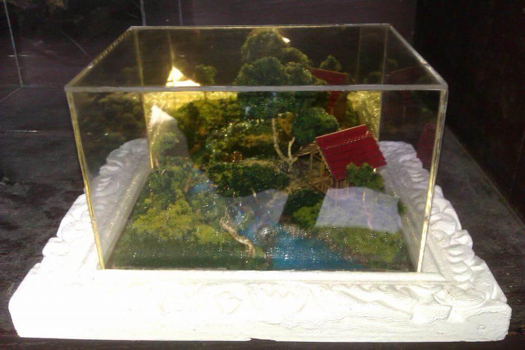 miniatur diorama alam maket creator, maketcreator.com