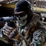 olah raga menembak airsoft gun maket creator, maketcreator.com