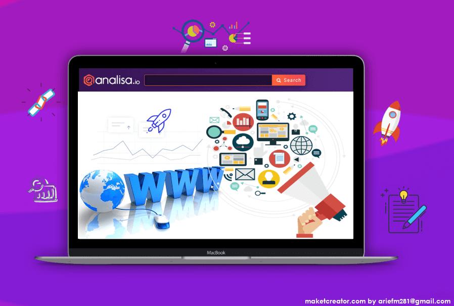 website promosi maket creator