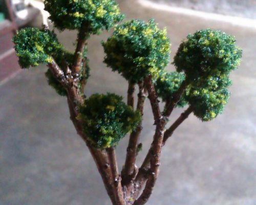 miniatur maket diecast pohon maket creator, maketcreator.com